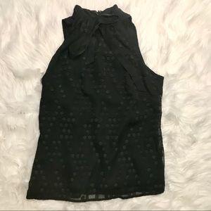 Merona Short Sleeve Back Zip Up Blouse